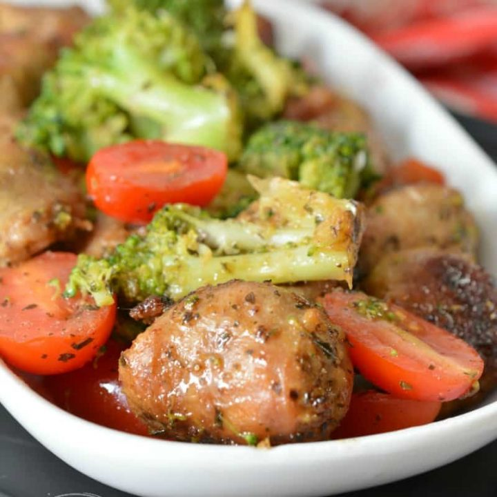 One Pan Italian Sausage Skillet Meal