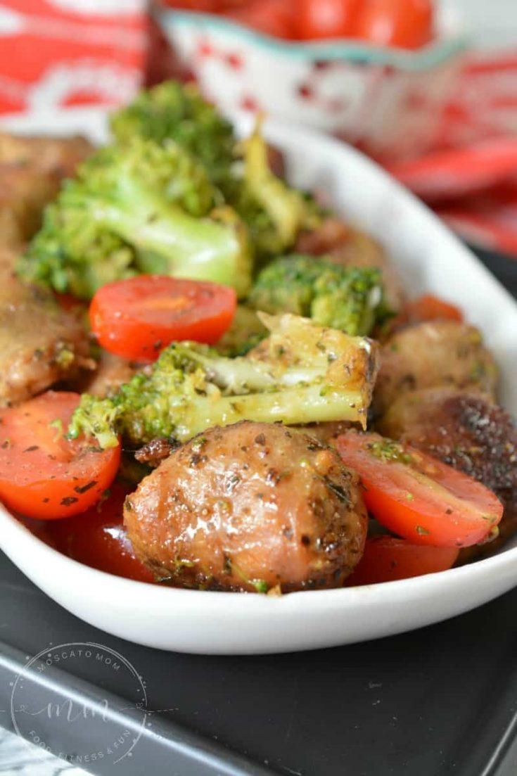 One Pan Italian Sausage Skillet Meal
