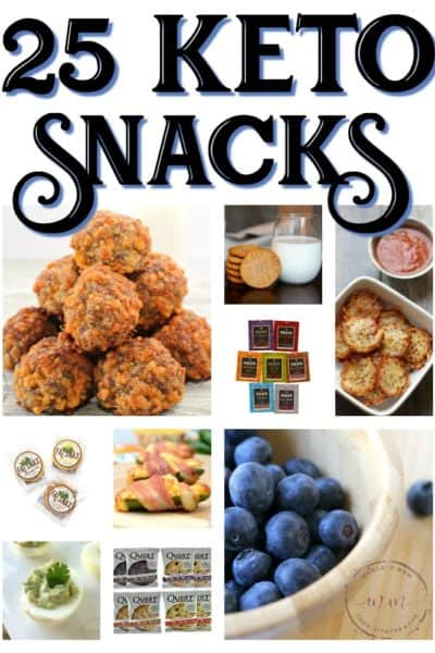 25 Best Keto Diet Snacks You Will Love!