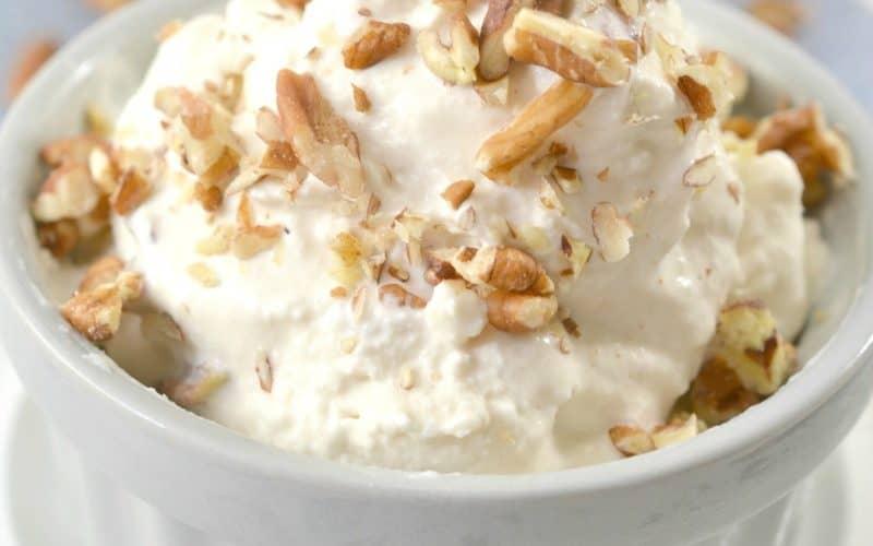 Keto Ice Cream – Maple Pecan