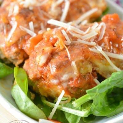 Easy Keto Meatball Casserole