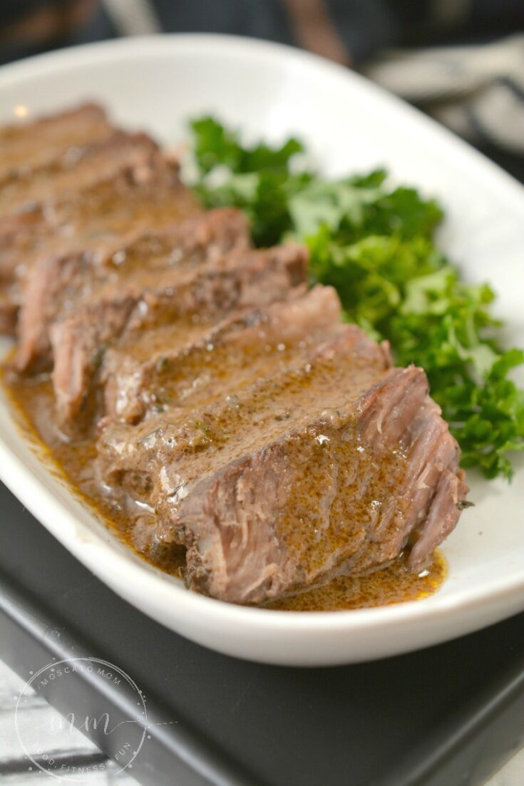 Keto Slow Cooker Braised Short Ribs with Gravy