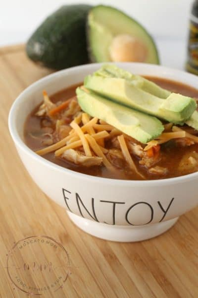 30 Minute Chicken Tortilla Soup + $50 Visa Giftcard Giveaway!