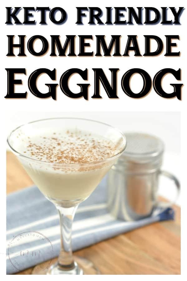 keto eggnog recipe