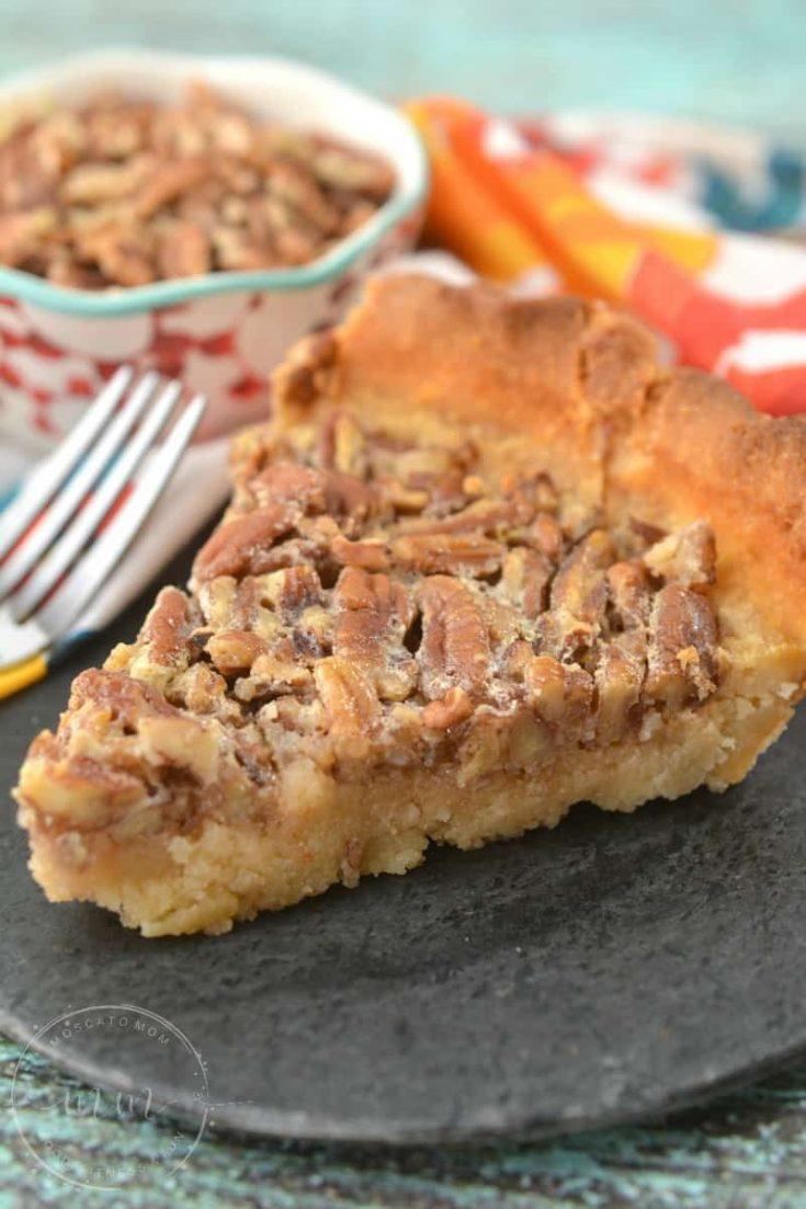 Keto Pecan Pie