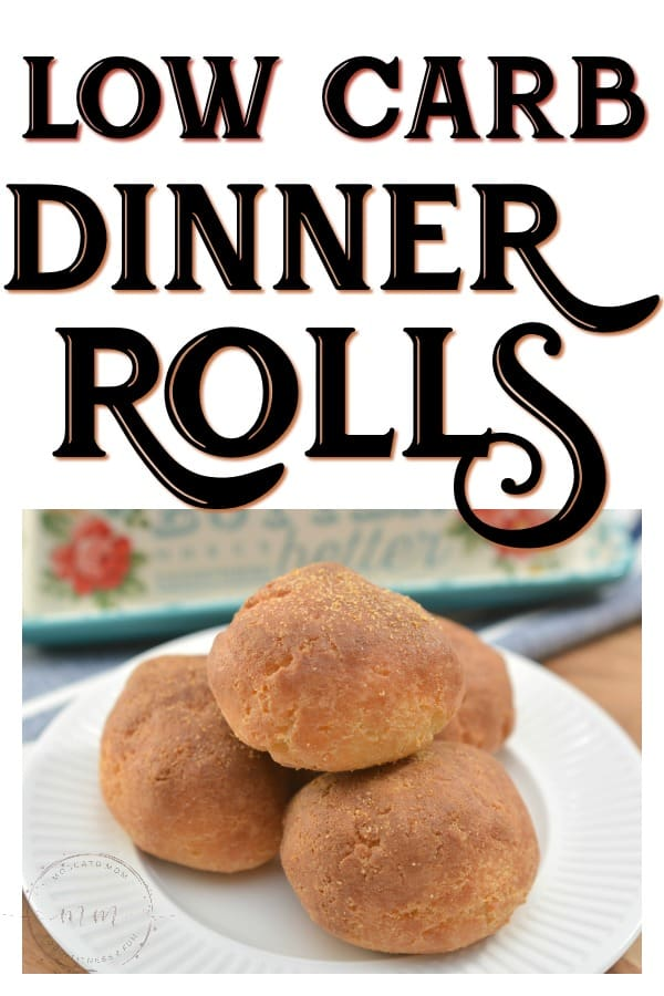 low carb dinner rolls