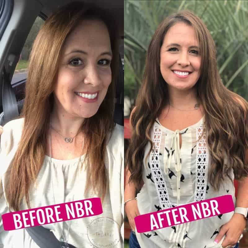 NBR before and after