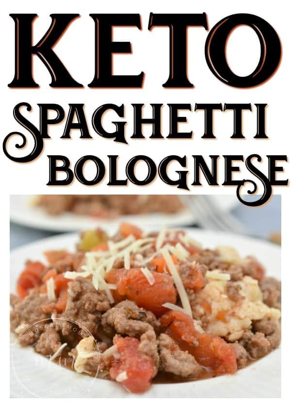 keto bolognese sauce recipe
