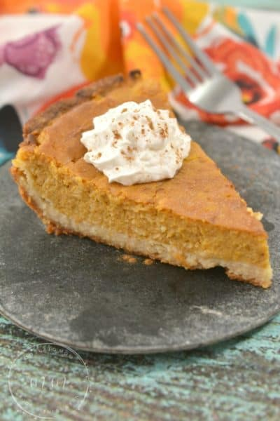 Easy Keto Pumpkin Pie