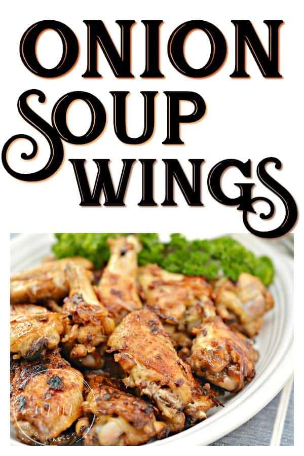 onion soup chicken wings