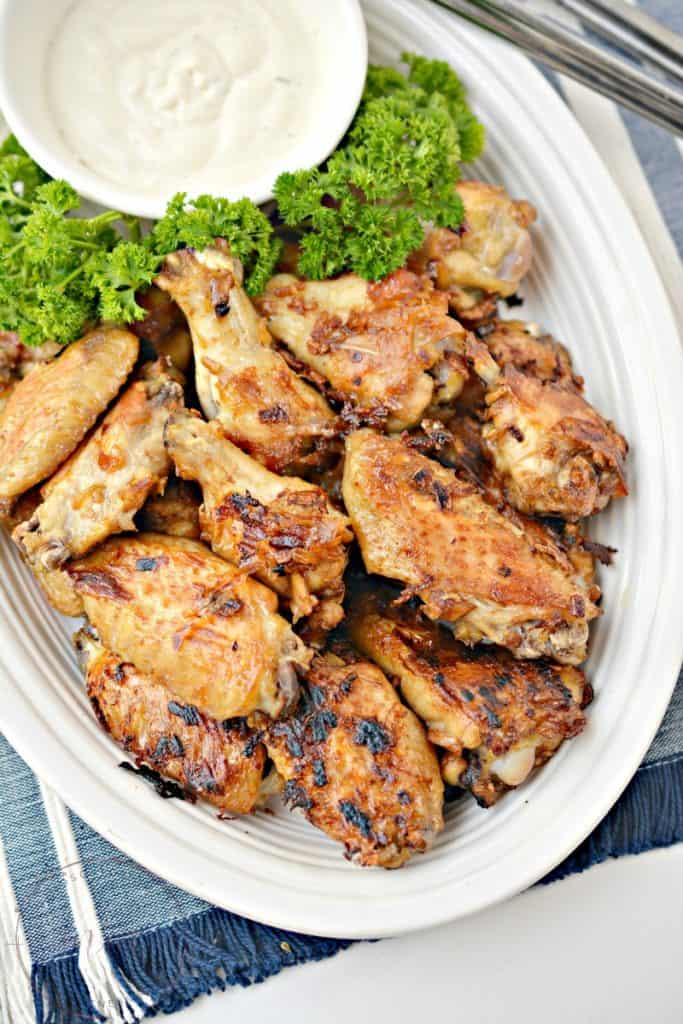 homemade wings recipe