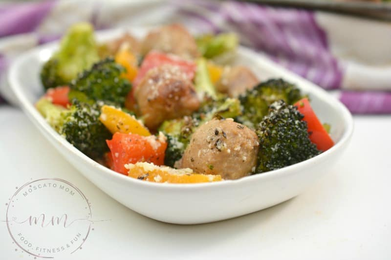sausage sheet pan dinner