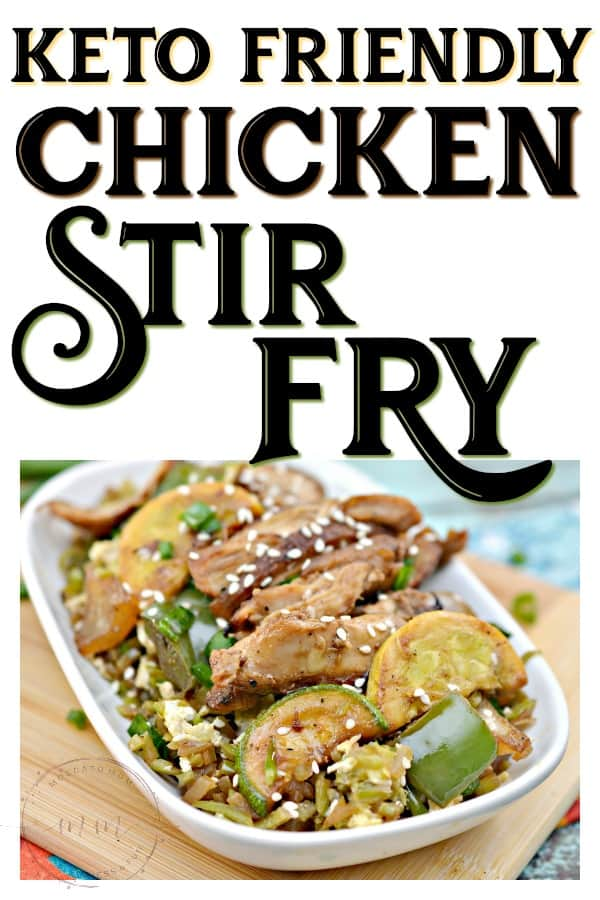 easy keto chicken stir fry