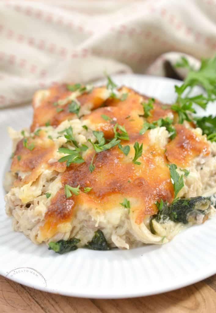 low carb chicken casserole