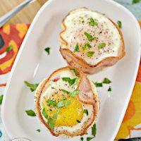 Keto Bacon Sausage and Egg Cups