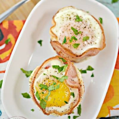 Keto Bacon Sausage and Egg Cups