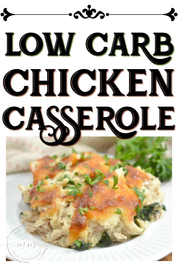 easy low carb chicken casserole