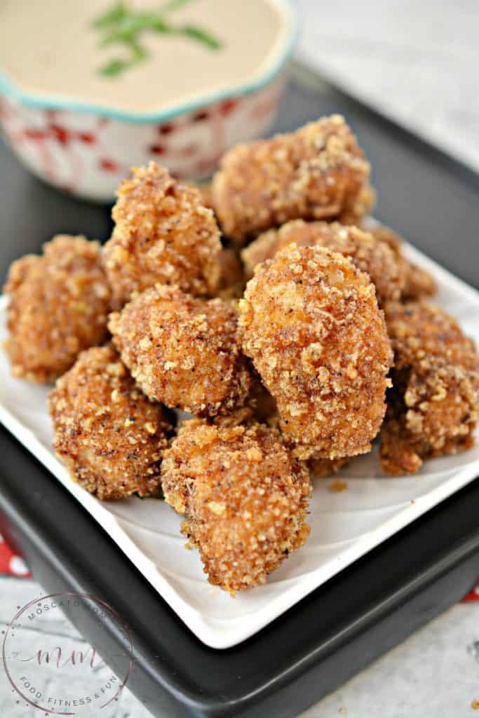 keto spicy chicken nuggets