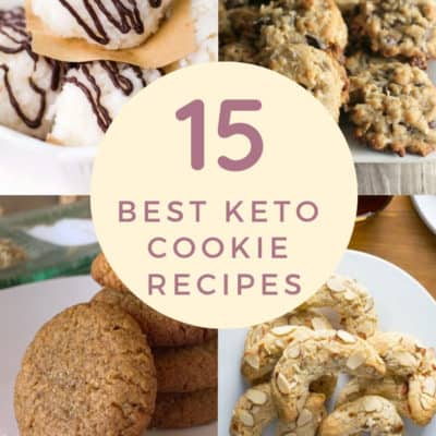 15 Best Keto Cookies Recipes