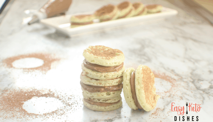 Keto Mint Chocolate Macaroons