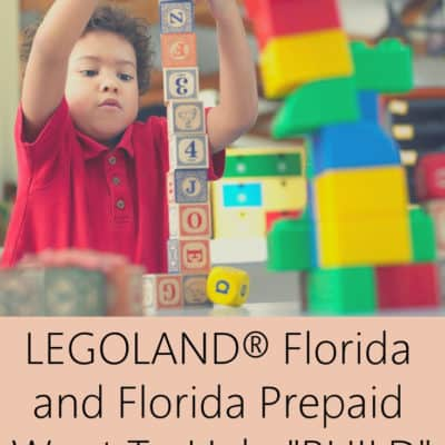 LEGOLAND® Florida and Florida Prepaid Want To Help BUILD Your Child's Future
