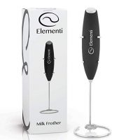 Milk Frother with Stand