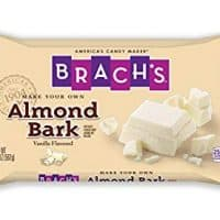 Brach's Vanilla Almond Bark, 20oz Candy Bag (Pack of 12) Holiday Baking and Candy