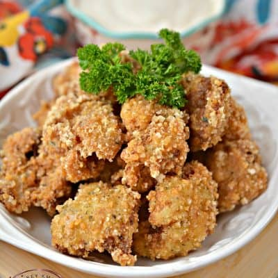 Low Carb Cauliflower Bites