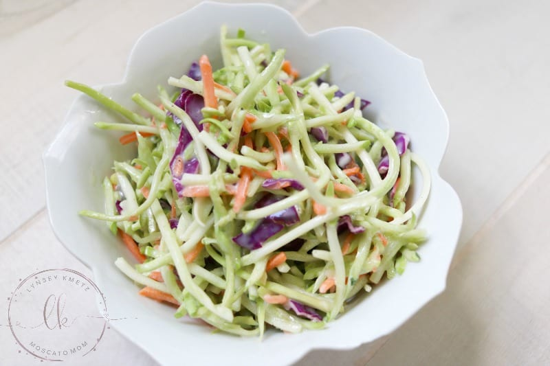 easy broccoli slaw recipe