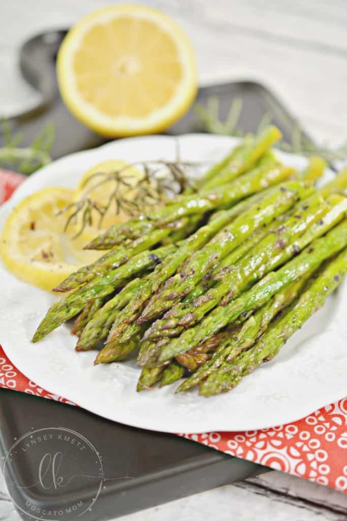 keto roasted asparagus