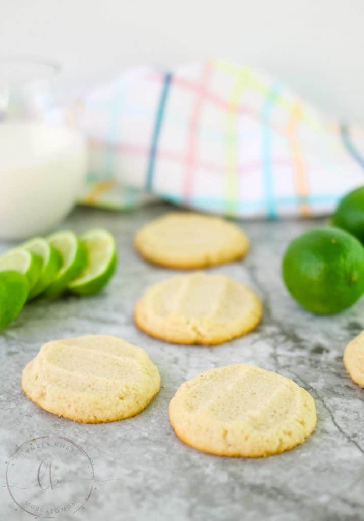 keto shortbread cookies lime