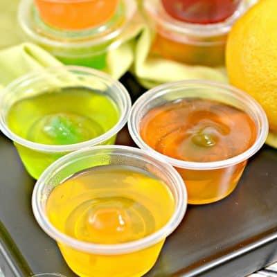Keto Sugar-Free Jello Shots