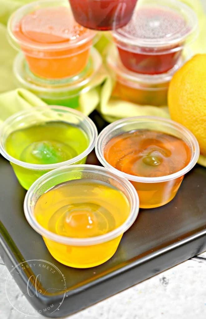 Easy Sugar Free Jello Shots from MoscatoMom com
