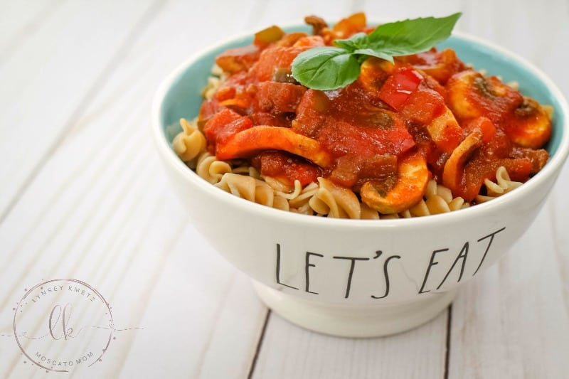 easy vegetarian pasta sauce