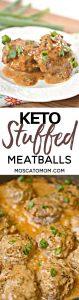 keto stuffed meatballs