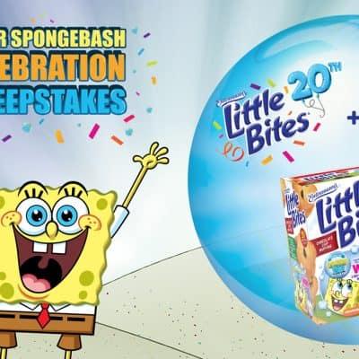 Entenmann's Little Bites® Muffins & SpongeBob Celebrate 20 Years