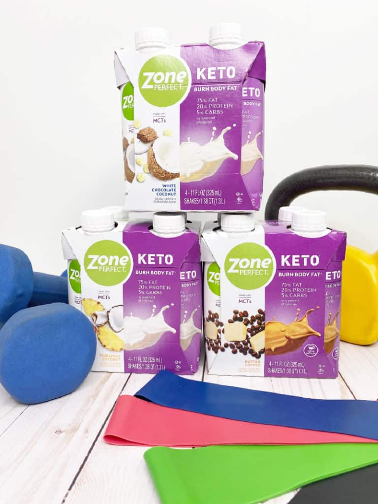 new zoneperfect keto shakes