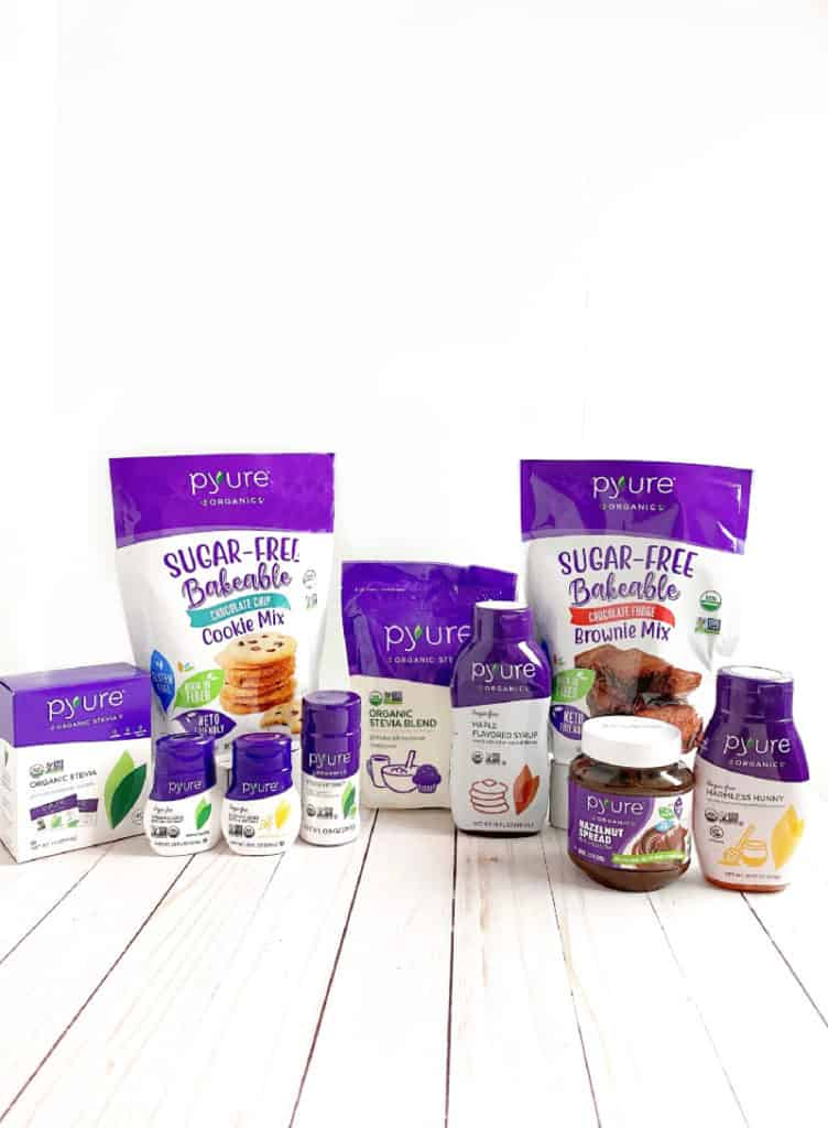 Pyure Organic Stevia products