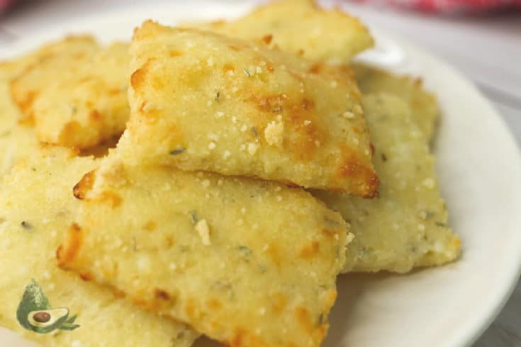 Rosemary Low Carb Crackers