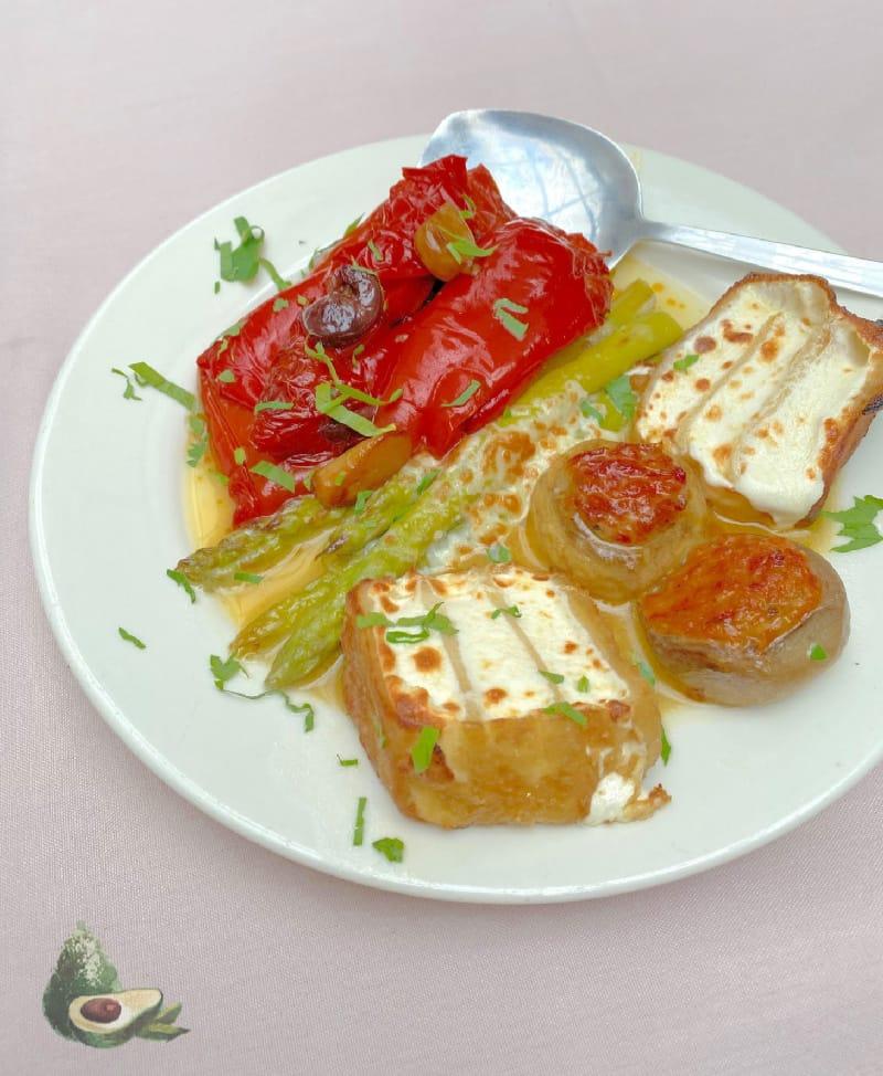appetizers from la mela nyc
