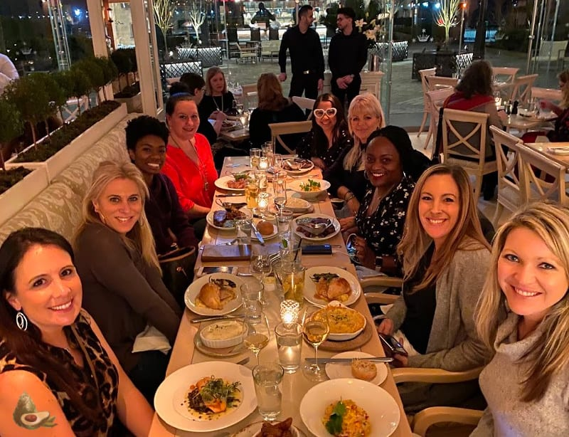 women dining at tavern on the green