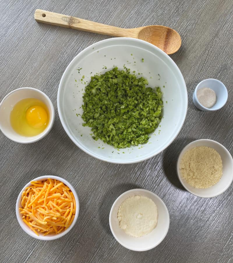 broccoli fritters ingredients