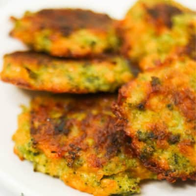 Low Carb Broccoli Fritters Recipe