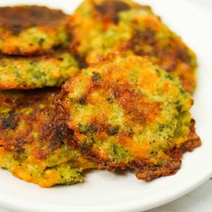 Low Carb Broccoli Fritters