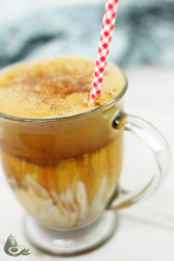 Keto Whipped Coffee - Dalgona Recipe