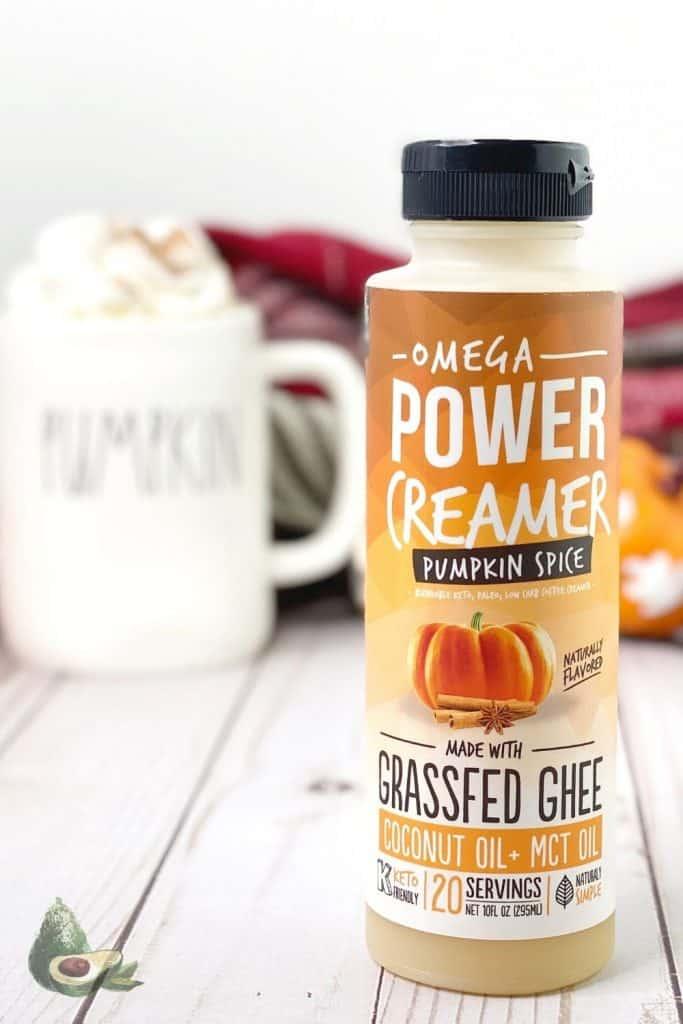 keto omega power creamer pumpkin spice