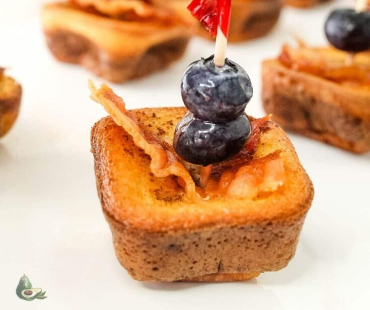 Keto French Toast Bites